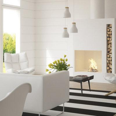 7 razones por las que deberías pintar tu salón de blanco