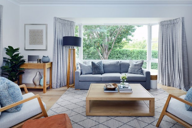 Contemporary Living Room by Alix Helps Interiors