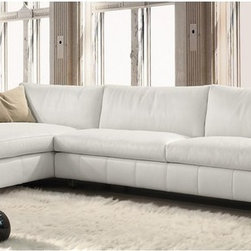 Lounge Sectional Sofa - Please contact IQmatics at 847.885.3600 for detailed information. Leather sectional and sofa manufactured in Italy. Can be made in various leather and configuration.