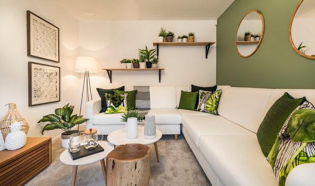 Classique Chic Salon by The Design House
