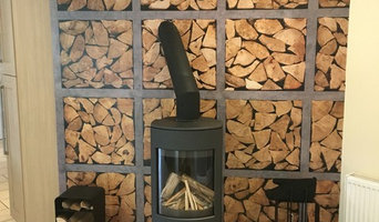 Lovely freestanding Dovre Astroline Stove. Installed by team CSI in Newmarket, A