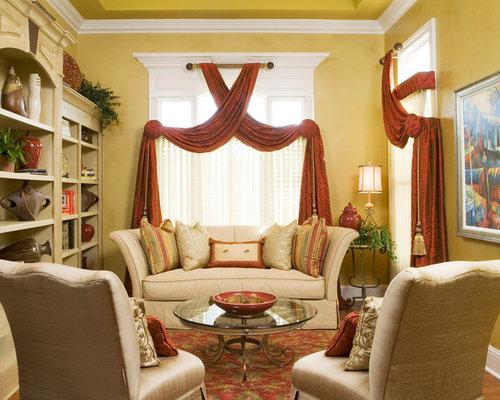 Traditional Window Treatments Living Design Ideas