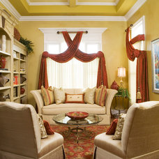 Traditional Living Room by Decorating Den Interiors --The Sisters & Company