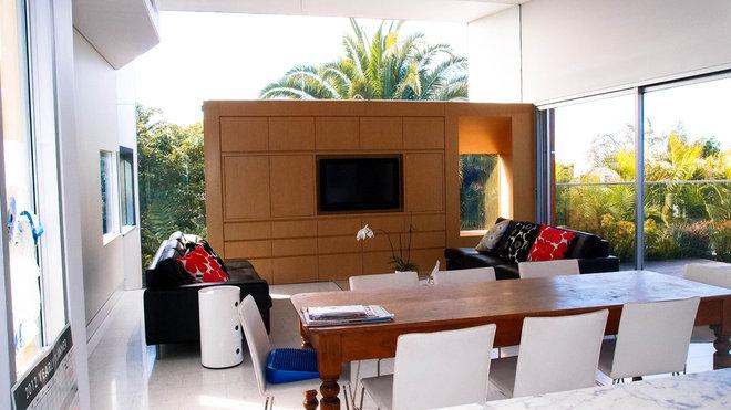 Contemporary Living Room by Monica Kovacic