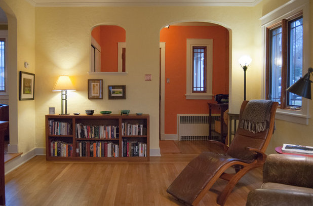 My Houzz From Dark And Dim To Cheerily Colorful In