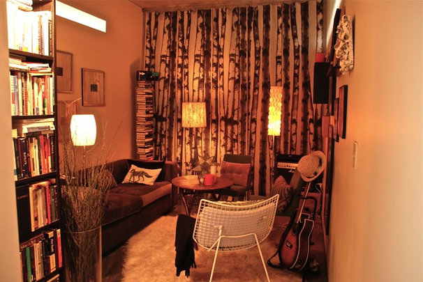 Modern Living Room Lucas's Loft