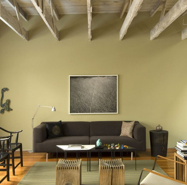 Industrial Living Room by John Lum Architecture, Inc. AIA