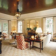 Transitional Living Room Luminous Interiors