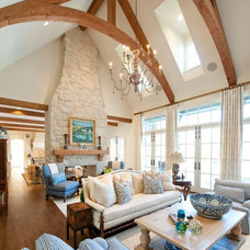 Traditional Living Room by Danes Custom Homes
