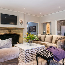 Transitional Living Room by Kress Jack At Home