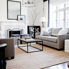 Traditional Living Room by angela auclair photography