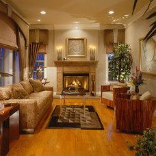 Contemporary Living Room by Martin Perri Interiors, Inc.