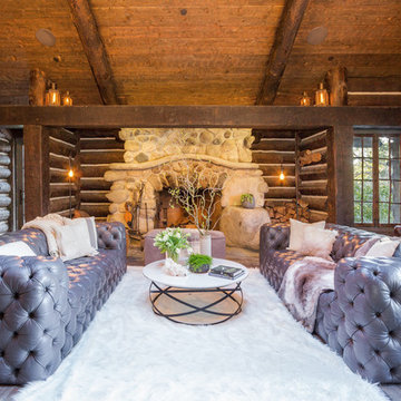 Luxe Log Cabin in the Canyon