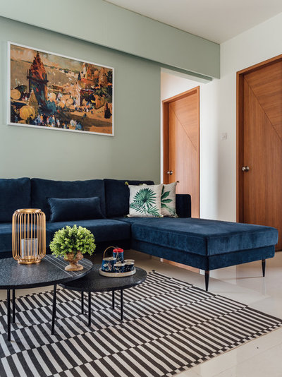 Contemporary Living Room by Intrinsic Designs