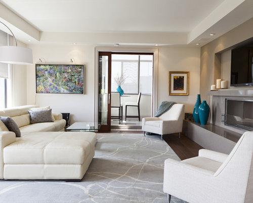 Condo living room houzz - Images of living room decor ...