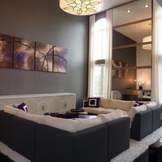 Contemporary Living Room by Design By Alicia