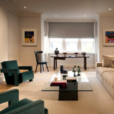 Transitional Living Room by TG-Studio