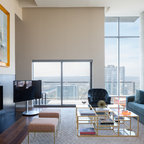 Living Room Contemporary Living Room Seattle By