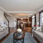 Transitional Living Room Toronto By Lisa Petrole Photography