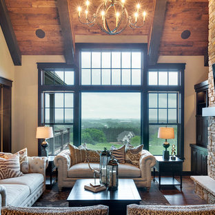 75 Most Popular Rustic Living Room Design Ideas for 2019 - Stylish Rustic Living Room Remodeling Pictures | Houzz