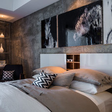 Contemporary Bedroom by FOUR POINT Design+Construction Inc.