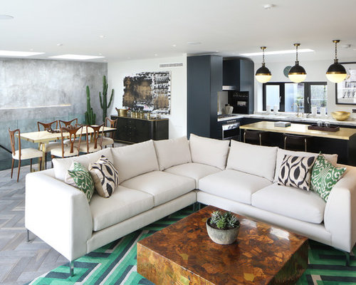 Design Ideas For An Urban Living Room In London.