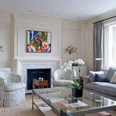 Traditional Living Room by Leona Mozes Photography
