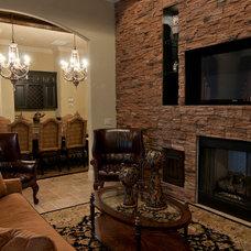Traditional Living Room by Regency Interior Design,LLC