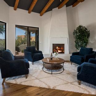 75 Southwestern Living Room Design Ideas - Stylish Southwestern ...