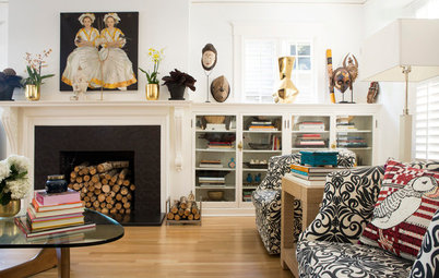 Room of the Day: Cherished Objects Personalize a Living Room