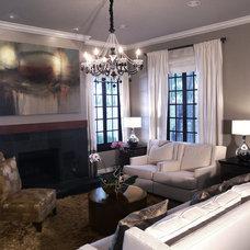 Contemporary Living Room by m.a.p. interiors inc. / Sylvia Beez