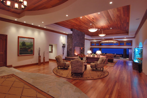 Contemporary Living Room by M Squared Design - Architecture