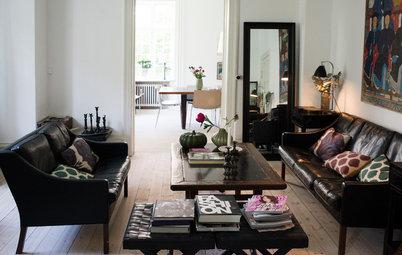Houzz Tour: På besök hos en globetrottande modedesigner i Köpenhamn