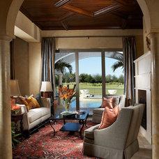 Mediterranean Living Room Mabelina
