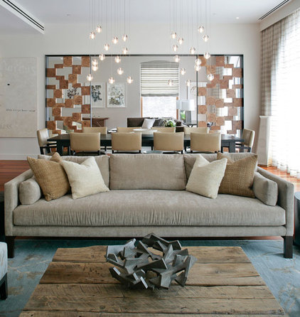 contemporary living room by Betty Wasserman