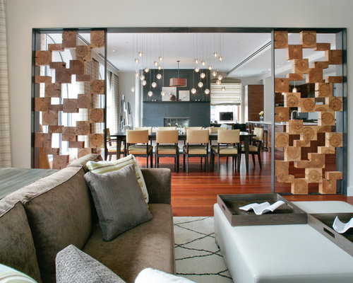 Living Room Divider Houzz