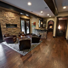 Traditional Living Room by simpleFLOORS Seattle