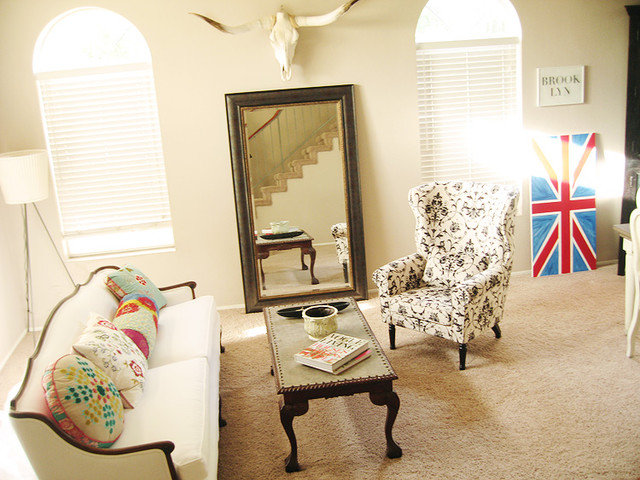 Eclectic Living Room madebygirl- main living room