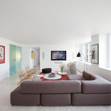 Modern Living Room by David Bucovy Architect