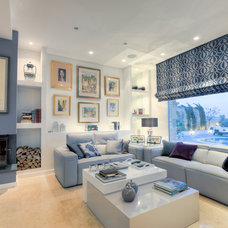 Contemporary Living Room by Pippa Toledo