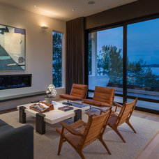 Modern Living Room by CCS ARCHITECTURE