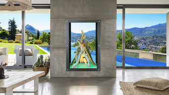 Maestro Collection by Davinci Custom Fireplace