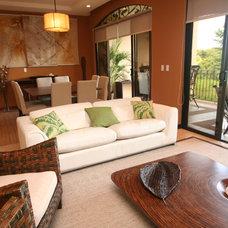 Modern Living Room by magda bruna