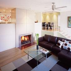 Contemporary Living Room by Studio Sarah Willmer