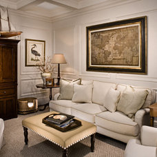 Traditional Living Room by A. Tate Hilliard, Architect/Builder