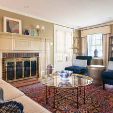 Traditional Living Room by Glenna Stone Interior Architecture + Design