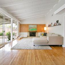 Midcentury Living Room by Better Living SoCal