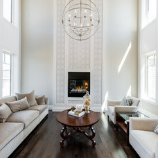 Traditional Living Room by Maison Fine Homes & Interior Design