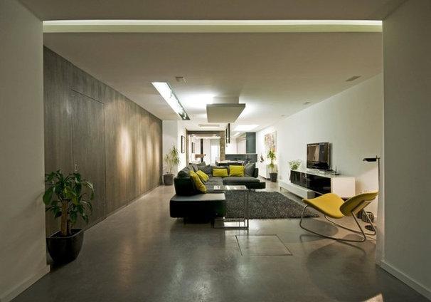 Contemporary Living Room by MJMDA, Matthew James Mercieca Design Architects