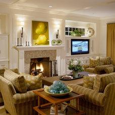 Beach Style Living Room by CATALDO CUSTOM BUILDERS, INC.